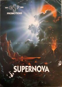 "Esp supernova ""dreamscape"" july/august 1991 @ milwaukee's Bedford rave flyer"