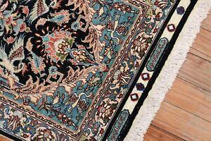 Fine Turkish Signed Keyseri Silk Rug Size 1'6''x2'