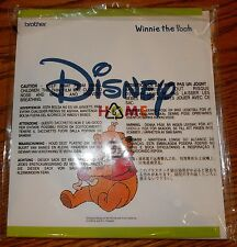 Brother Disney Winnie the Pooh Embroidery Design Card