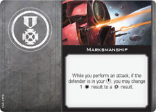 Star Wars X-Wing Miniatures 2.0 Upgrade Card - Marksmanship (EPT)