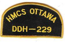 Modern Canadian HMCS Ottawa Ball Cap Badge