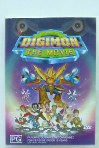 Digimon The Movie DVD - Animated Cartoon Anime Movie RARE OOP Digital Monsters