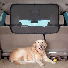 Non-toxic Pet Car Barrier Back Seat Vehicle Dogs Net Safety Gate Mesh For Travel