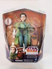 Star Wars Force of Destiny Princess Leia Organa Doll & Wicket The Ewok Figurine