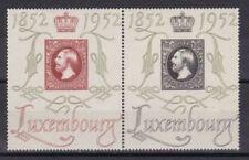 Echte Briefmarken aus Luxemburg mit Königshäuser-Motiv