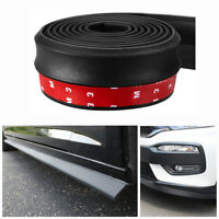 2.5M Car Front Bumper Lip Splitter Body Side Spoiler Skirt Protector Universal
