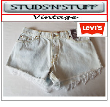 """LEVIS  VINTAGE WOMENS 550'S HIGH WAISTED SHORTS SIZE 36"""" APROX SIZE 16  (A35"""