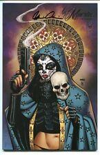 La Muerta Vengeance #1 Premium Foil Variant Cover by Joel Gomez Signed by Pulido
