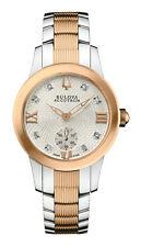 Bulova Accu Swiss Women's 65P101 Masella Swiss Quartz Two-Tone 31mm Watch