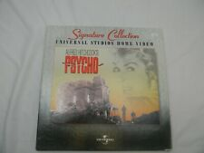Alfred Hitchcocks Psycho Laserdisc Laser Disc Universal Signature Collection