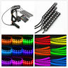 4 in 1 9LED Car Interior RGB Footwell Lights Atmosphere Decorative SMD Neon Lamp