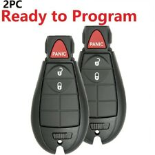 2 For 2013 2014 2015 2016 2017 2018 2019 2020 Dodge Ram 1500 2500 Remote Key Fob