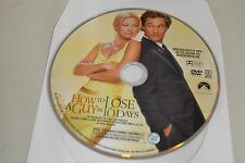 How to Lose a Guy in 10 Days (DVD, 2003, Widescreen)Disc Only Free Shipping