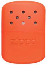 ZIPPO Blaze Orange Pocket HAND WARMER w/ Filler Cup + Warming Bag! 40348