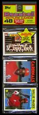 1986 Topps Baseball Rack Pack - A.L. AS TEAM & McGEE AS TOP; GUERRERO AS BACK!!!