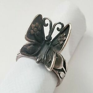 Retired James Avery Sterling Silver MARIPOSA Butterfly Ring - Size 7