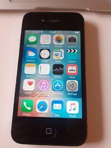 Apple iPhone 4s 16GB (Unlocked) Smartphone - Black - Fully Working