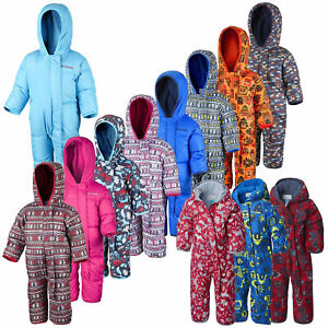 Columbia Snuggly Bunny Bunting Kids Snowsuit Down Filled