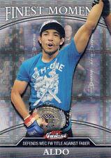 2011 TOPPS UFC FINEST MOMENTS REFRACTOR CARD #FM-JA JOSE ALDO 21/188