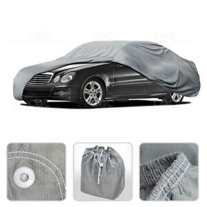 Car Cover for Mercedes E Class Outdoor Breathable Sun Dust Proof Protection