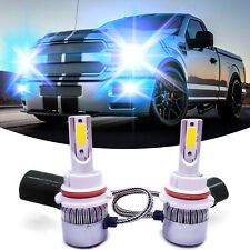 9007 HB5 CREE LED Headlight Bulbs Kit High & Low Beam 55W 8000LM 8000k Ice Blue