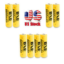 8X 18650 9800mAh Li-ion 3.7V Rechargeable Battery For Flashlight Torch Laser RC
