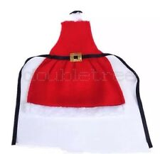 Christmas Santa Claus Wine Bottle Cover Dinner Party Table Decor Holiday