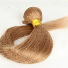 10A BRAZILIAN HUMAN HAIR HONEY BLONDE 27# STRAIGHT 1O TO 30INCHES 100g FAST SHIP