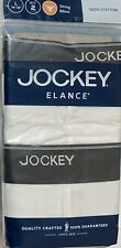 Jockey Elance 2- String Bikinis 100% Cotton Large 36-38  White  (5516)