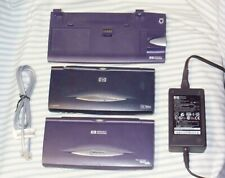 **LOT OF TWO** (2) WORKING HP Jornada 720 / 680 Windows Handheld PC's WITH DOCK