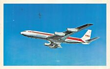 TRANS WORLD AIRLINES Airline Airplane Postcard