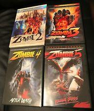 Zombi 2 / Zombi 3 / Zombie 4 / Zombie 5 - DVD