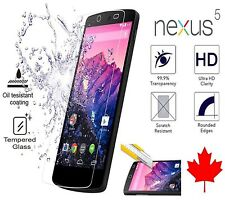 Premium Tempered Glass Screen Protector for LG Nexus 5