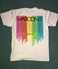 Maroon 5 Original 2010 Concert T-Shirt Adult Medium by American Apparel - Nwt!