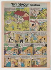 PAT'APOUF. L'OEIL DE KRISHNA. PAR JEAN ACHE. 30 PLANCHES. SERIE COMPLETE. 1975.
