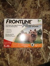 Frontline 5 to 22lbs Dog Flea and Tick Control Treatment - 3-Doses
