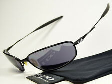 Oakley Whisker Black Sonnenbrille Square Wire Tightrope Tinfoil Taper Conductor