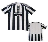 Newcastle United NUFC Adidas 2009/10 Football Shirt Maglia Camiseta Home SMALL