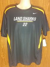 Nike Land Sharks Soccer Jersey Navy Blue Men's Size L