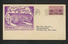 US Postal History Post Office Dedication New Jersey 6/19/1937 Glen Ridge NJ