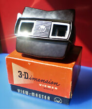 Vintage Retro 1960s Sawyer's (USA) View-Master 3D Optical Stereoscope + Reels