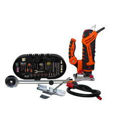 Twist-A-Saw Deluxe by The Renovator 287 piece Accessory Kit Multipurpose Saw