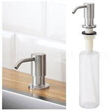 IKEA KNIPEN Stainless Steel Integrated Sink-Mounted Soap-Pump Dispenser UK-B786