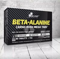 OLIMP,BETA-ALANINE. Carno Rush Mega Tabs, Amino Acid, Vit B6.