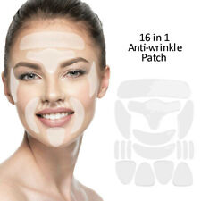 16Pcs Silicone Anti Wrinkle Pad Patches Reduce Facial Wrinkle Skin Care Reusable
