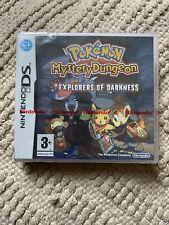 Brand New Pokemon Mystery Dungeon: Explorers of Darkness (Nintendo DS, 2008) PAL