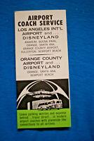 Airport Coach Service - Los Angeles - 10/31/65