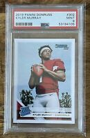 KYLER MURRAY *2019 Donruss Rated Rookie #302 PSA 9 Cardinals