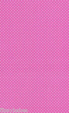 10 Sheets A4 Pink Card with Small White Spot Pattern 260gsm NEW