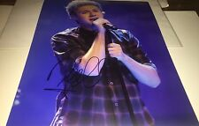 Niall Horan One Direction Singer Concert Hand Signed 11x14 Photo Autographed COA